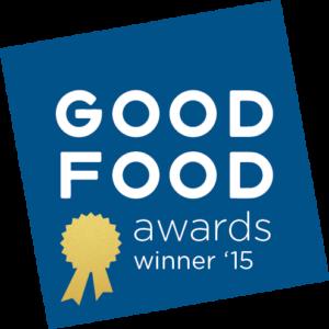 Good Food Awards Winner 2015