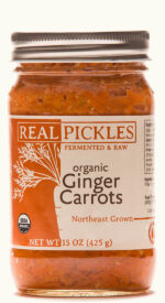 Real Pickles Organic Ginger Carrots