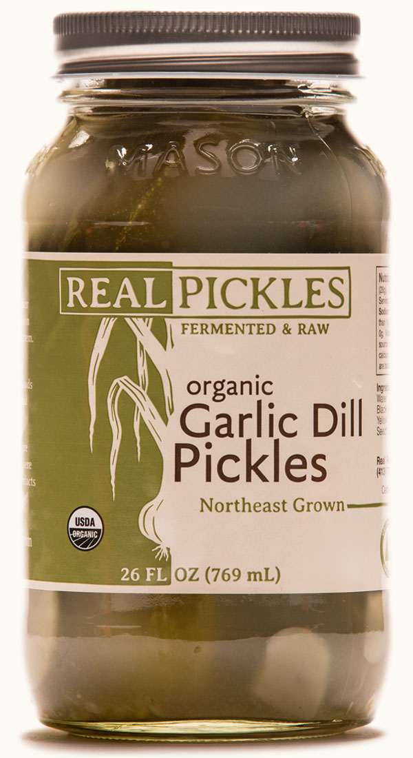 ORGANIC GARLIC DILL PICKLES