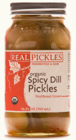 Real Pickles Organic Spicy Dill Pickles