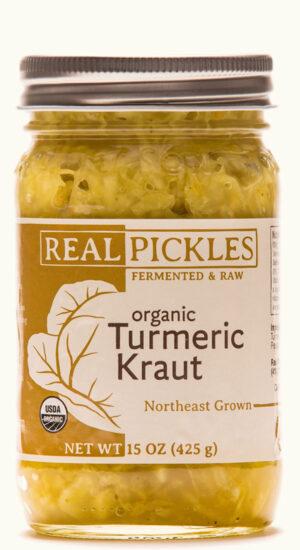Real Pickles Organic Turmeric Kraut