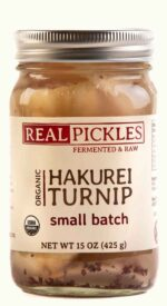 Real Pickles Organic Hakurei Turnip