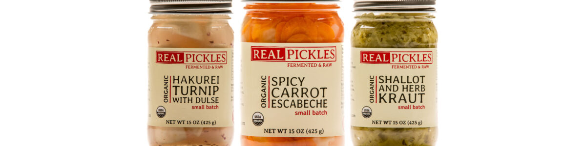 Real Pickles Small Batch Line