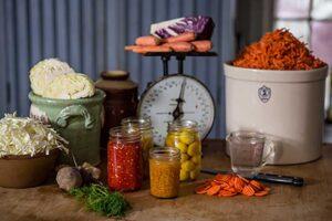 Real Pickles workshop on DIY vegetable fermentation