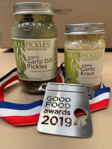 Real Pickles Good Food Awards 2019
