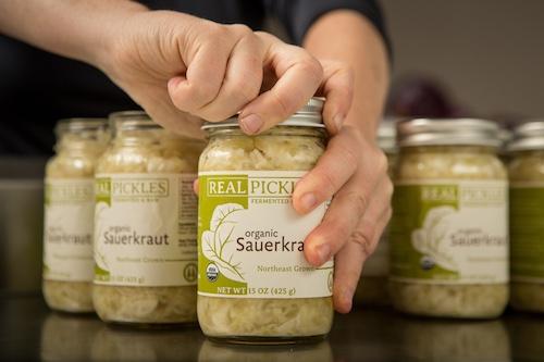 Packing Real Pickles Sauerkraut